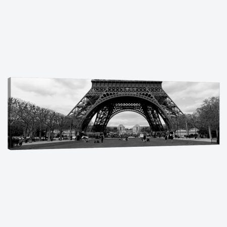 Low section view of a tower, Eiffel Tower, Paris, France Canvas Print #PIM1980} by Panoramic Images Canvas Artwork