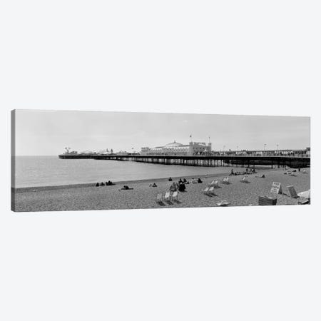 Brighton Palace Pier, Brighton, England, United Kingdom Canvas Print #PIM1981} by Panoramic Images Canvas Wall Art