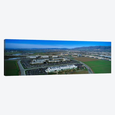 Aerial View, Silicon Valley Business Campus, San Jose, California, USA Canvas Print #PIM1987} by Panoramic Images Canvas Print