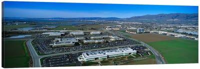 Aerial View, Silicon Valley Business Campus, San Jose, California, USA Canvas Art Print