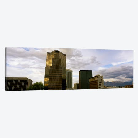 Buildings in a city with mountains in the background, Tucson, Arizona, USA Canvas Print #PIM1989} by Panoramic Images Canvas Wall Art