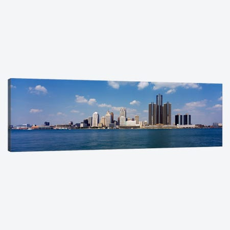 Detroit MI USA #2 Canvas Print #PIM198} by Panoramic Images Canvas Artwork