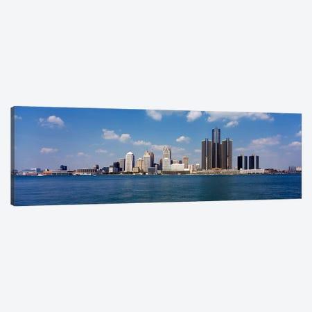 Detroit MI USA #2 Canvas Print #PIM198} by Panoramic Images Canvas Artwork