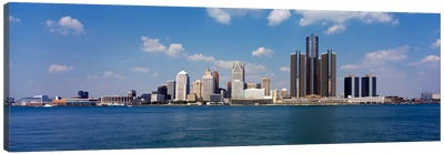 Detroit MI USA #2 Canvas Art Print