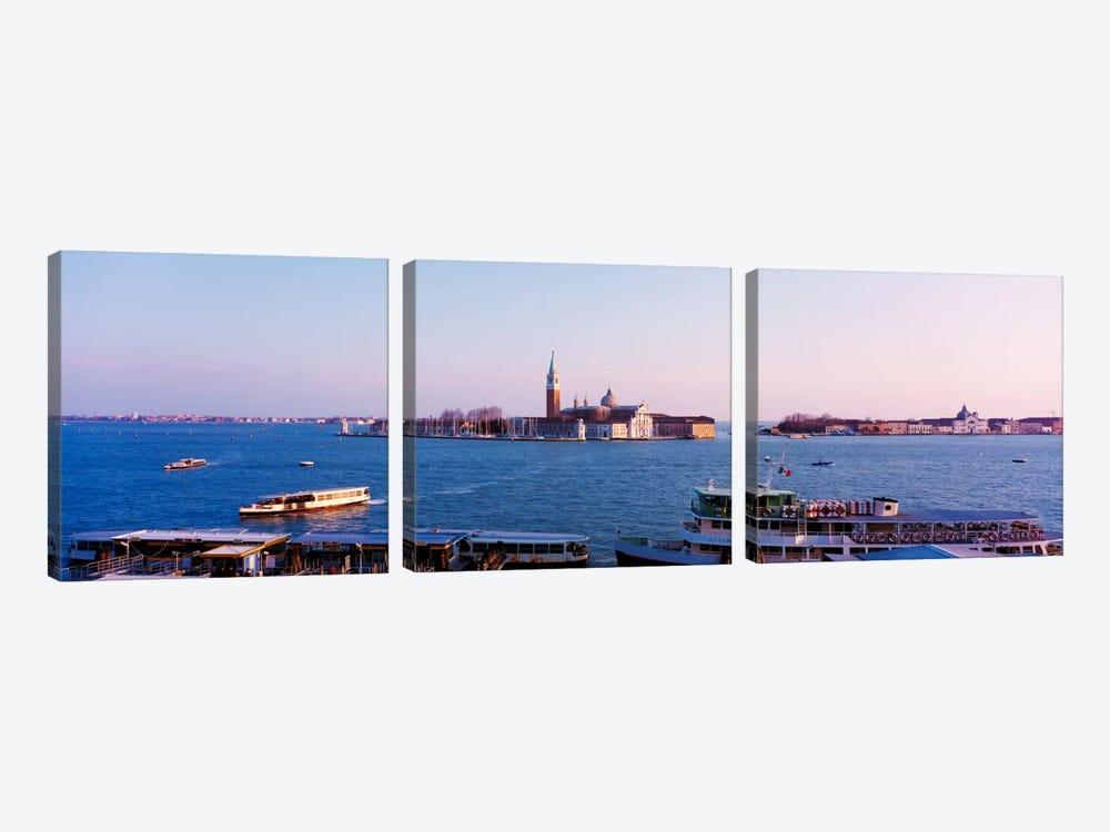 San Giorgio Maggiore Venice Italy by Panoramic Images 3-piece Canvas Wall Art