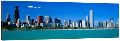 Skyline Chicago IL USA Canvas Print #PIM1999
