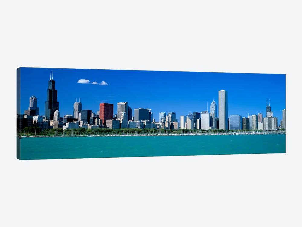 Skyline Chicago IL USA by Panoramic Images 1-piece Canvas Art