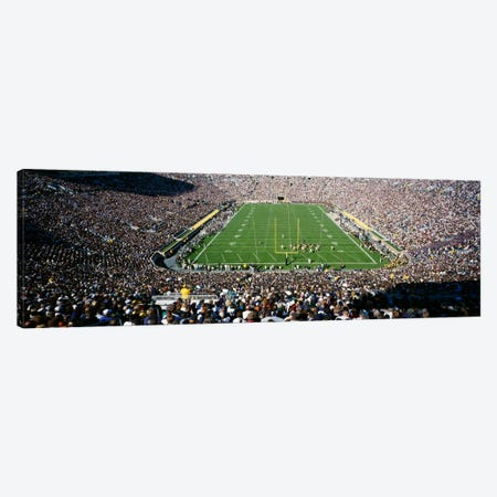 Aerial view of a football stadium, Notre Dame Stadium, Notre Dame, Indiana, USA Canvas Print #PIM2003} by Panoramic Images Art Print