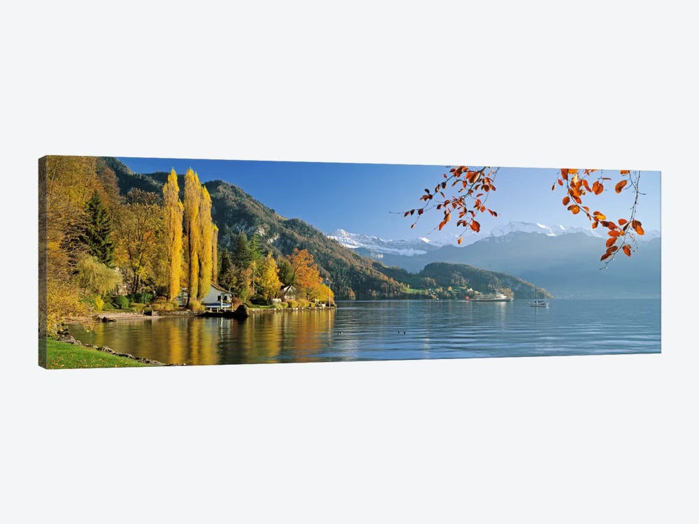 Vierwaldstattersee (Lake Lucerne), Vitznau, Lucerne, Switzerland by Panoramic Images 1-piece Canvas Wall Art