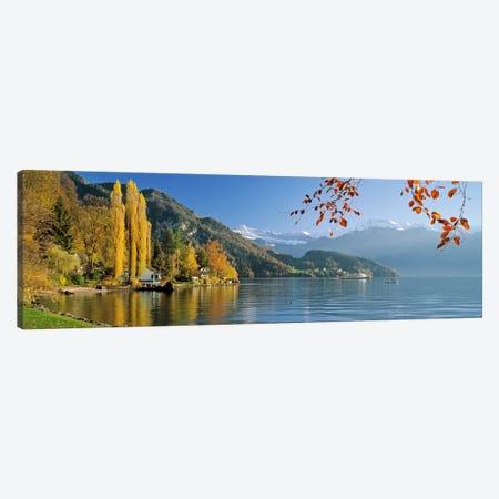 Vierwaldstattersee (Lake Lucerne), Vitznau, Lucerne, Switzerland Canvas Print #PIM2013} by Panoramic Images Canvas Wall Art