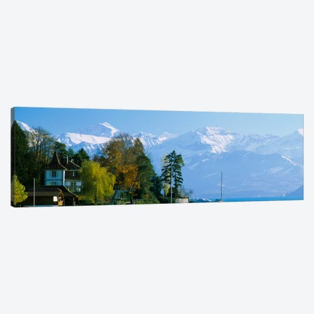 Mountain Landscape, Bern, Switzerland Canvas Print #PIM2015} by Panoramic Images Art Print