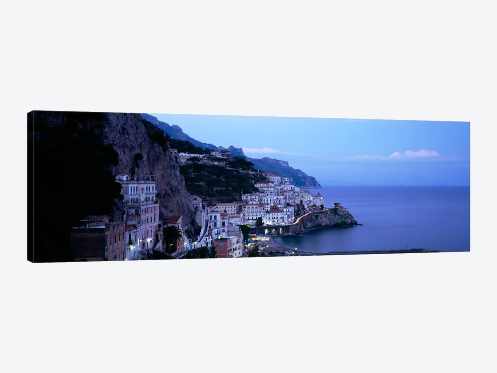High-Angle View Of Amalfi, Amalfi Coast, Salerno, Campania, Italy by Panoramic Images 1-piece Canvas Print