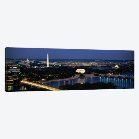 High angle view of a cityWashington DC, USA Canvas Print #PIM2040} by Panoramic Images Canvas Print