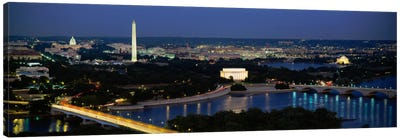 High angle view of a cityWashington DC, USA Canvas Print #PIM2040