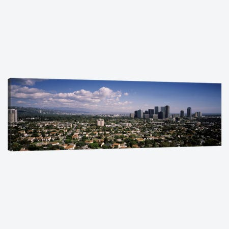 High angle view of a cityscapeCentury city, Los Angeles, California, USA Canvas Print #PIM2042} by Panoramic Images Canvas Art Print