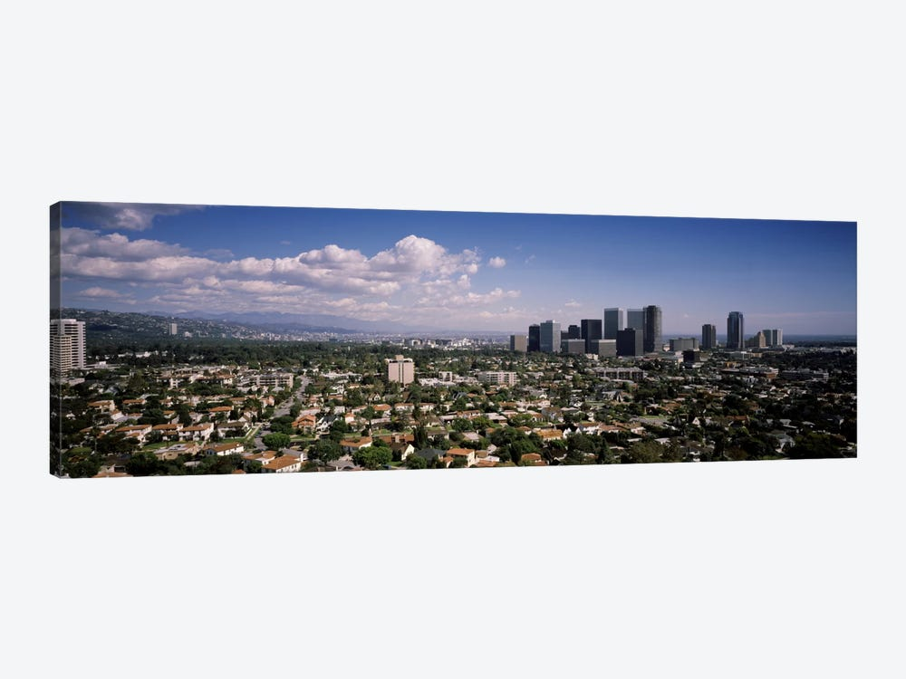 High angle view of a cityscapeCentury city, Los Angeles, California, USA by Panoramic Images 1-piece Canvas Wall Art