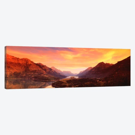 Waterton Lakes National ParkAlberta, Canada Canvas Print #PIM2047} by Panoramic Images Canvas Artwork
