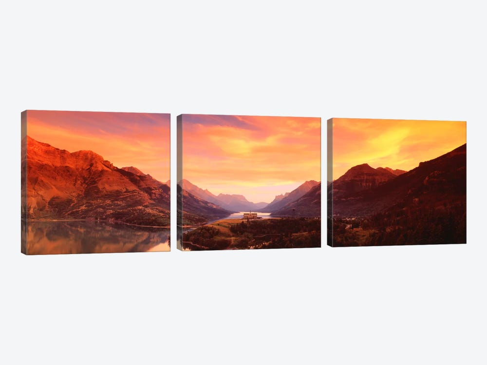 Waterton Lakes National ParkAlberta, Canada by Panoramic Images 3-piece Art Print