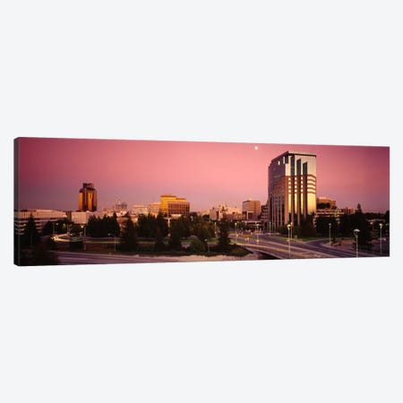 Buildings in a citySacramento, California, USA Canvas Print #PIM2050} by Panoramic Images Canvas Art