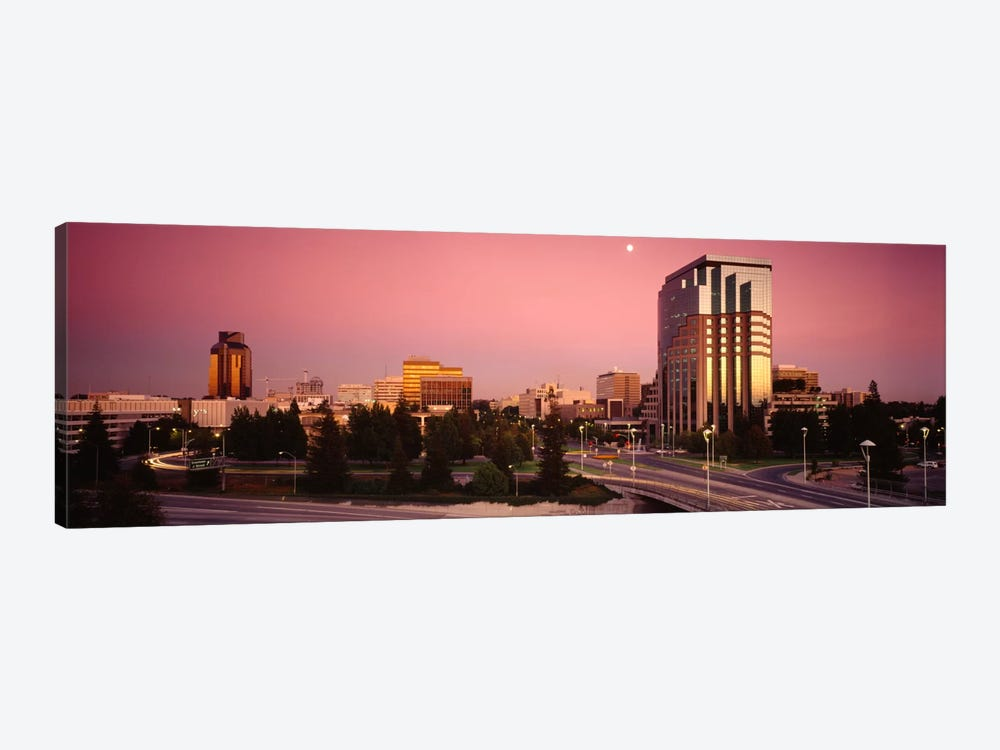 Buildings in a citySacramento, California, USA by Panoramic Images 1-piece Canvas Art Print