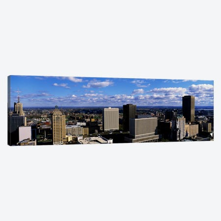 USANew York, Buffalo Canvas Print #PIM2053} by Panoramic Images Canvas Artwork