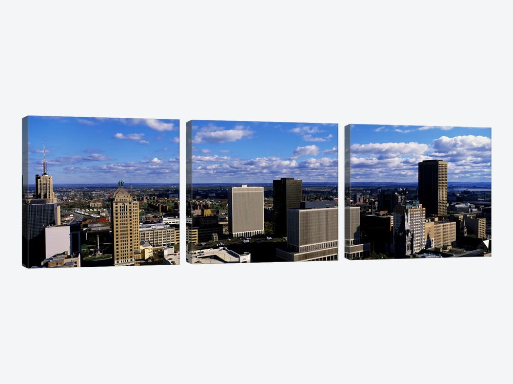 USANew York, Buffalo by Panoramic Images 3-piece Canvas Artwork