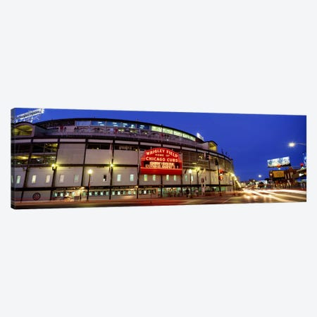 USA, Illinois, Chicago, Cubs, baseball #3 Canvas Print #PIM2054} by Panoramic Images Canvas Print