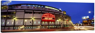 USA, Illinois, Chicago, Cubs, baseball #3 by Panoramic Images Canvas Print