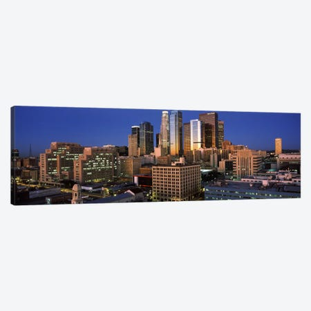 Los Angeles CA USA #2 Canvas Print #PIM2061} by Panoramic Images Art Print