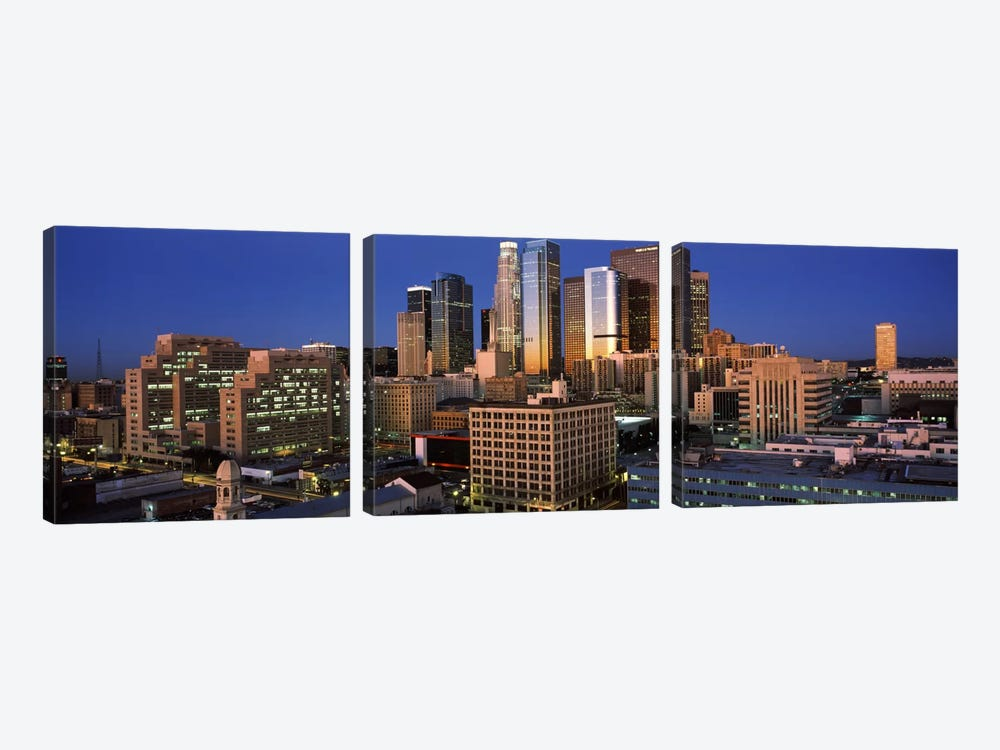 Los Angeles CA USA #2 by Panoramic Images 3-piece Canvas Art Print