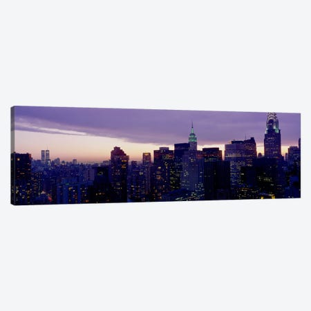 Skyline, Manhattan, New York City, New York, USA Canvas Print #PIM2062} by Panoramic Images Canvas Art Print