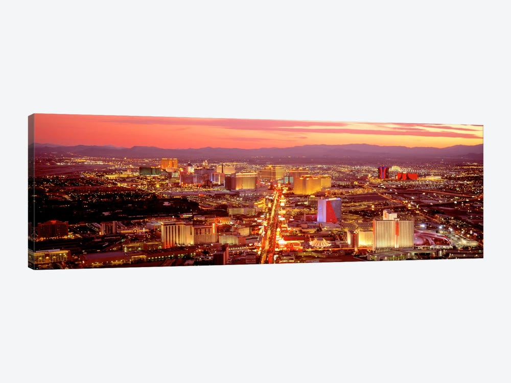 Aerial Las Vegas NV USA by Panoramic Images 1-piece Canvas Wall Art