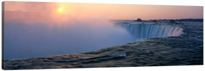 Sunrise Horseshoe Falls Niagara Falls NY USA Canvas Print #PIM2065
