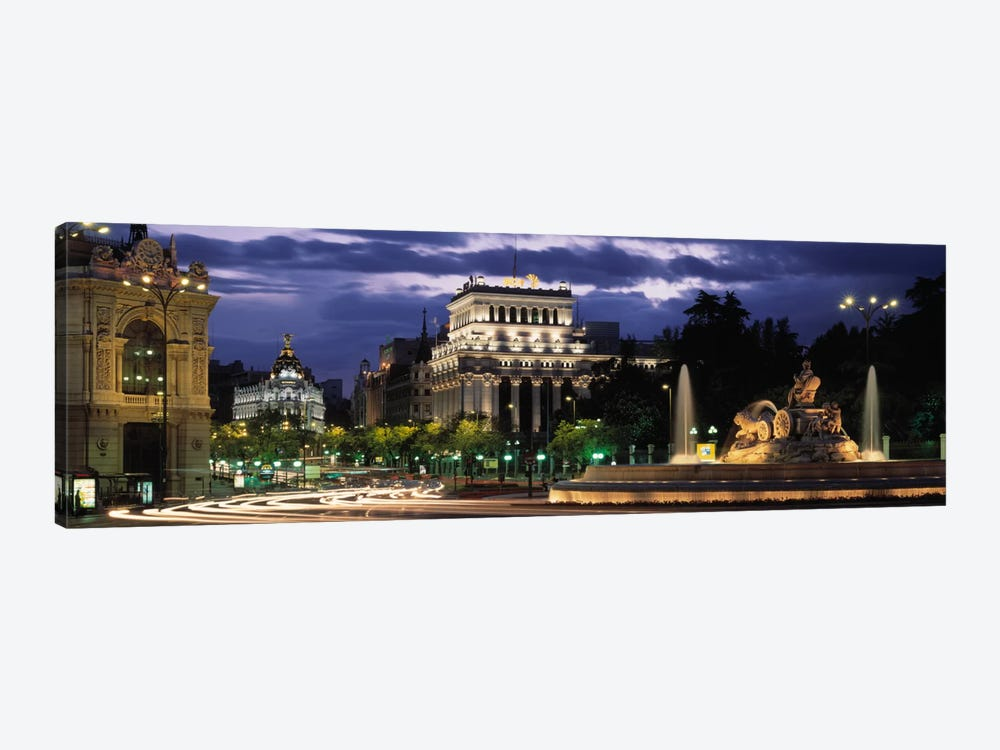 Western View From Plaza de Cibales, Madrid, Spain by Panoramic Images 1-piece Art Print