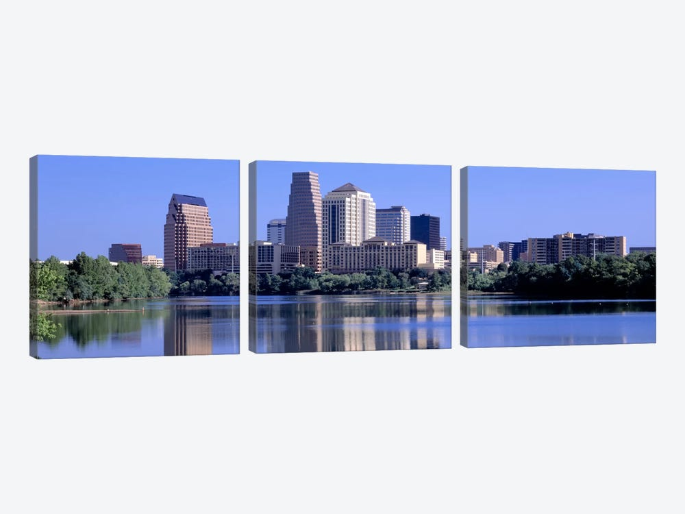 Austin TX USA by Panoramic Images 3-piece Canvas Wall Art