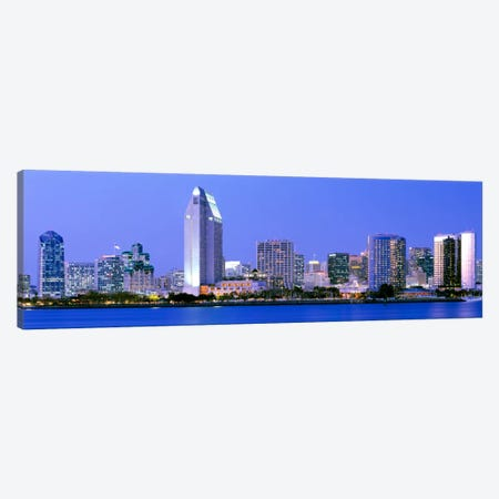 Skyline, San Diego, California, USA Canvas Print #PIM2072} by Panoramic Images Canvas Art