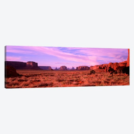 Distant View, Monument Valley, Navajo Nation, USA Canvas Print #PIM2073} by Panoramic Images Canvas Artwork