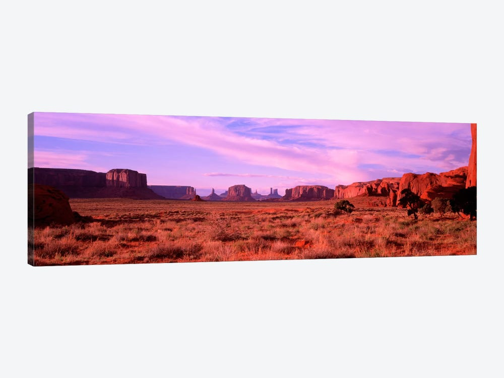 Distant View, Monument Valley, Navajo Nation, USA by Panoramic Images 1-piece Canvas Wall Art