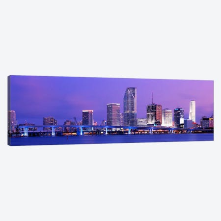 Miami FL Canvas Print #PIM2074} by Panoramic Images Canvas Print