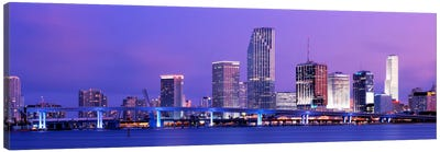 Miami FL Canvas Art Print