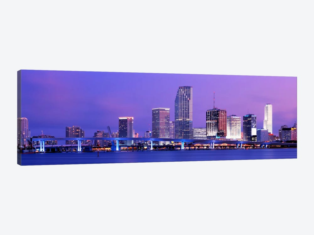 Miami FL by Panoramic Images 1-piece Canvas Print