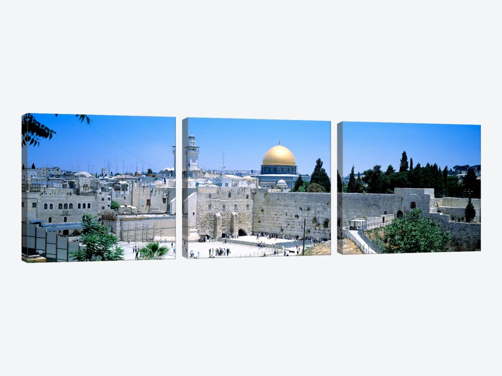 Jerusalem, Israel by Panoramic Images 3-piece Canvas Art
