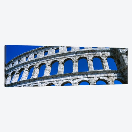 Roman Amphitheater, Pula, Croatia Canvas Print #PIM2080} by Panoramic Images Canvas Art Print