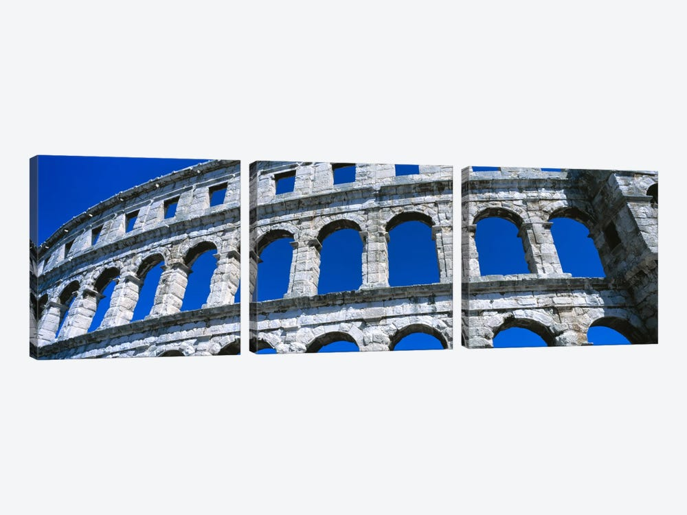 Roman Amphitheater, Pula, Croatia by Panoramic Images 3-piece Canvas Wall Art
