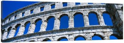 Roman Amphitheater, Pula, Croatia Canvas Art Print