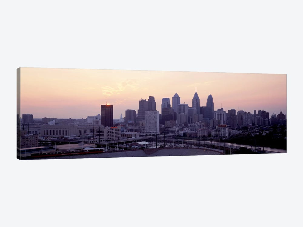 Sunrise Philadelphia PA USA by Panoramic Images 1-piece Art Print