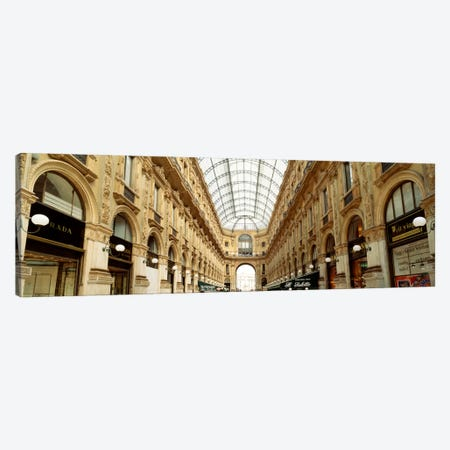 Galleria Vittorio Emanuele II, Milan, Italy Canvas Print #PIM2088} by Panoramic Images Canvas Art Print