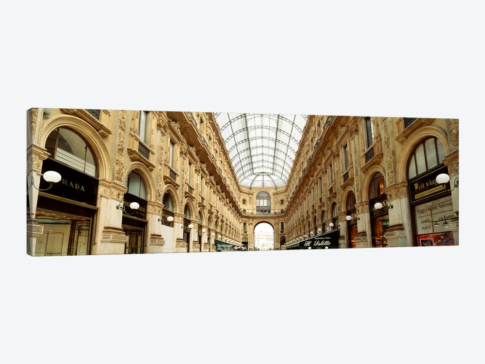 Galleria Vittorio Emanuele II, Milan, Italy by Panoramic Images 1-piece Canvas Artwork