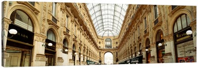 Galleria Vittorio Emanuele II, Milan, Italy Canvas Art Print