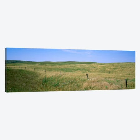 Prairie Landscape, Cherry County, Nebraska, USA Canvas Print #PIM2095} by Panoramic Images Art Print